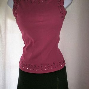 New Look Beaded Top US size 8, UK size 10